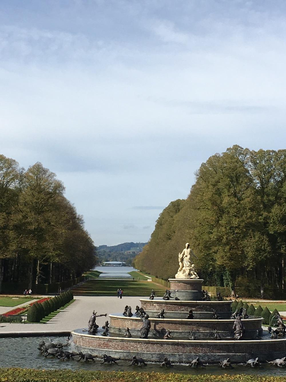 Ausblick Schloss Herrenchiemsee
